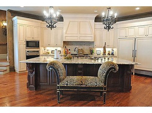 Kim Zolciak kitchen dream home