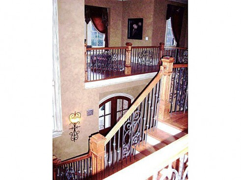 Kim Zolciak staircase dream home