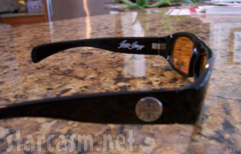 WWhat kind of glasses does Barry Weiss wear? West Coast Choppers custom glasses