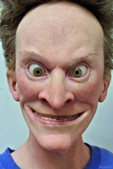 Beavis sculpture by Kevin Kirkpatrick