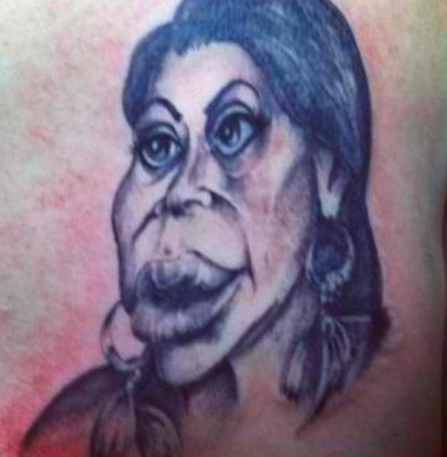 Mob Wives Big Ang tattoo