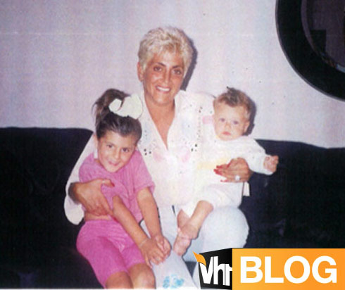 Big Ang Angela Raiola childhood photo