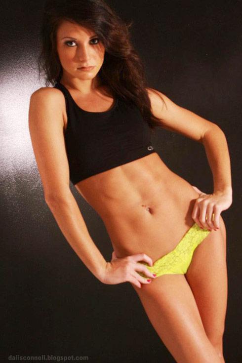 Dalis Connell lingerie photo