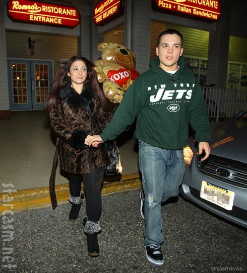 Deena from Jersey Shore and her new boyfriend Chris Buckner