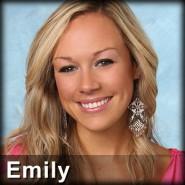 The Bachelor contestant Emily O'Brien from Season 16 with Ben Flajnik