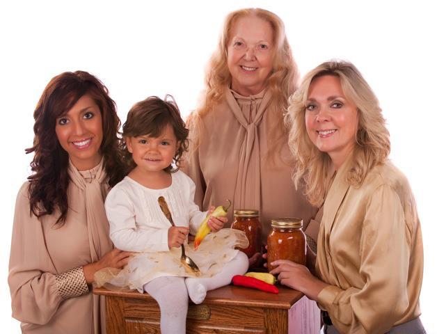 Farrah Abraham with daughter Sophia mom Debra and grandmother Carmella
