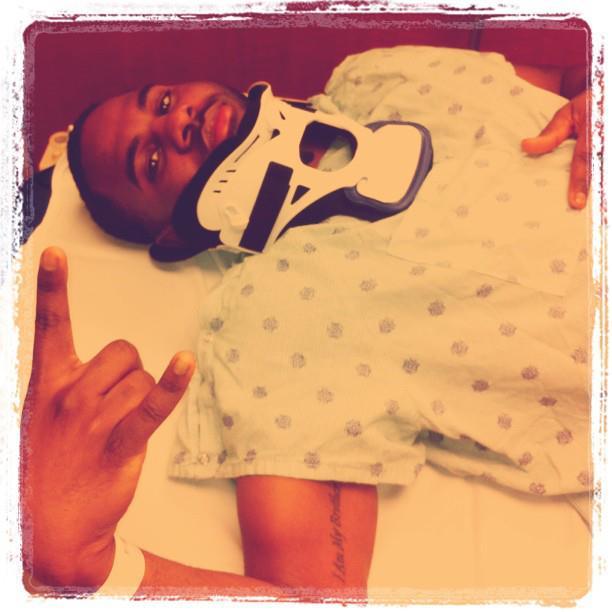 Jason Derulo broken neck