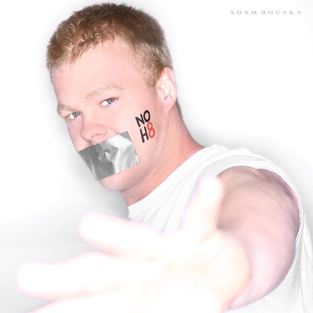 Kyle King NOH8 photo