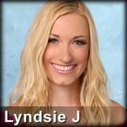 The Bachelor contestant Lyndsie Lou James from Season 16 with Ben Flajnik