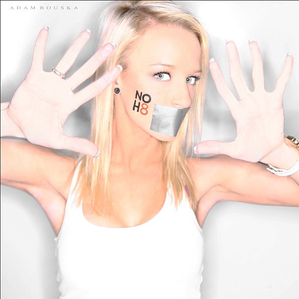 NOH8 Maci Bookout photo