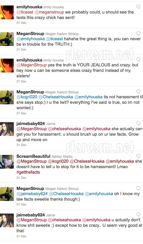 Megan Stroup seems unconcerned about a lawsuit after bashing Chelsea Houska on Twitter