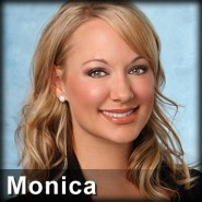 The Bachelor contestant who kisses another woman is Monica Spannbauer