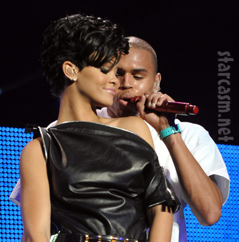 Rihanna and Chris Brown file photo WENN