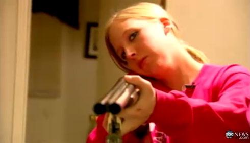 Teen mom Sarah Mckinley shot an intruder after asking permission via 911