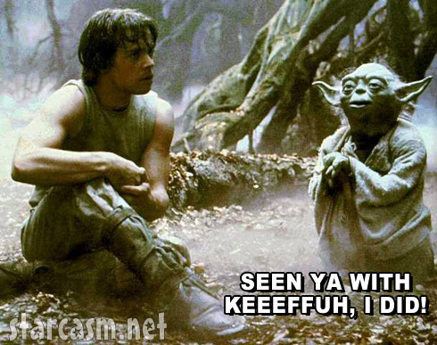 Yoda Seen ya with Keeeffuh I did inspired by Jenelle Evans mom Barbara