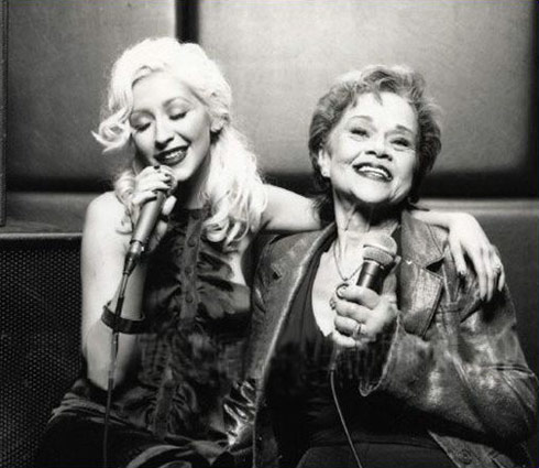 Etta James Christina Aguilera