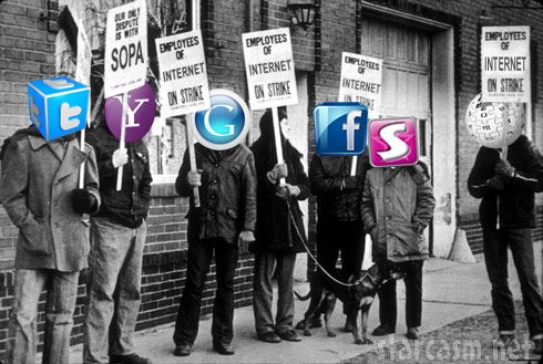 Facebook, Twitter, Google and more may shut down in protest of SOPA bill