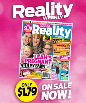 Reallity Weekly magazine cover announcing Teen Mom Leah Messer is in fact pregnant