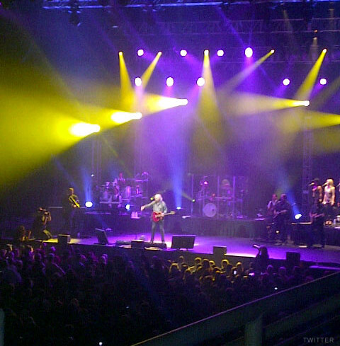 Barry Gibb live concert in Hollywood FL