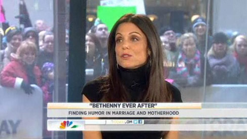 Bethenny Frankel admits to miscarriage on the Today Show
