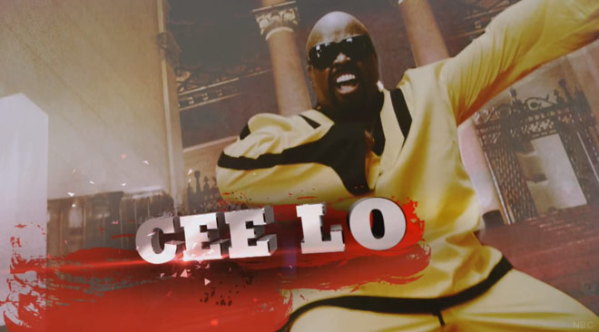 Cee Lo Green The Voice Super Bowl commercial
