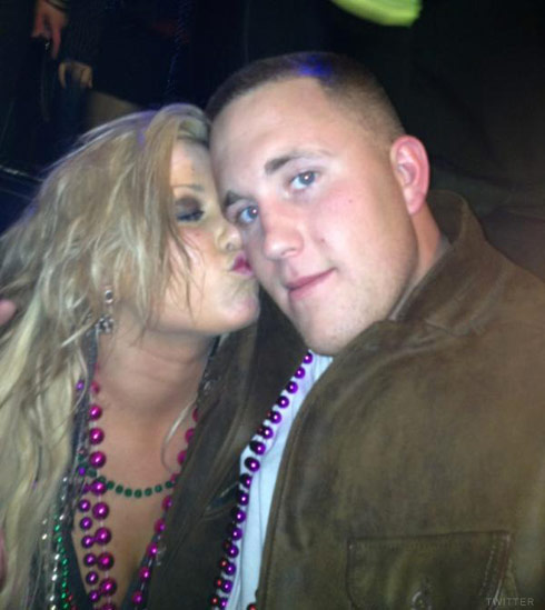 Teen Mom Chelsea Houska with Wesley Branch of Caged