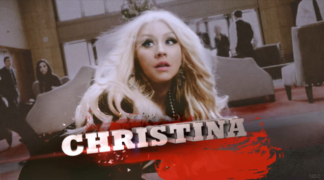 Christina Aguilera The Voice Super Bowl commercial