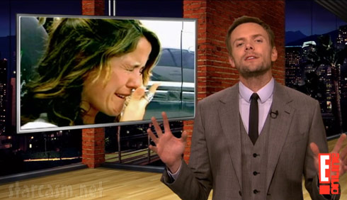Joel McHale makes fun of Jenelle Evans from Teen Mom 2 on The Soup