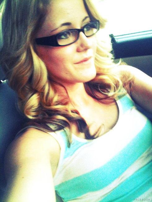 Jenelle Evans driving