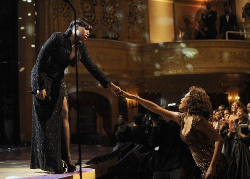 Jennifer Hudson and Whitney Houston 2010 BET Awards