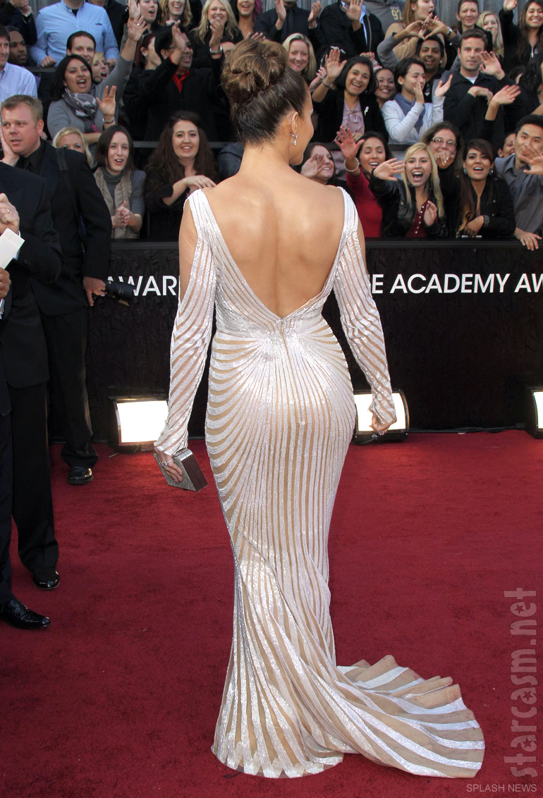Photos Jennifer Lopez Flawless On Oscars Red Carpet