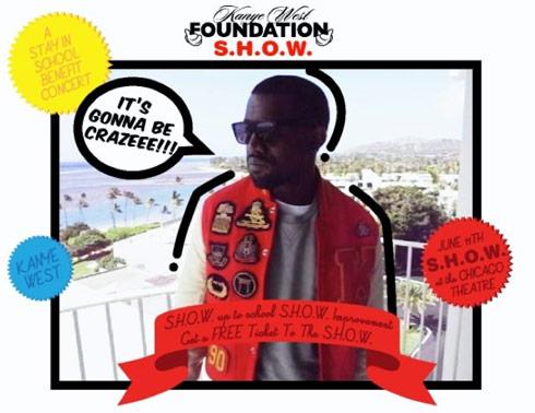 Promo for the Kanye West Foundation