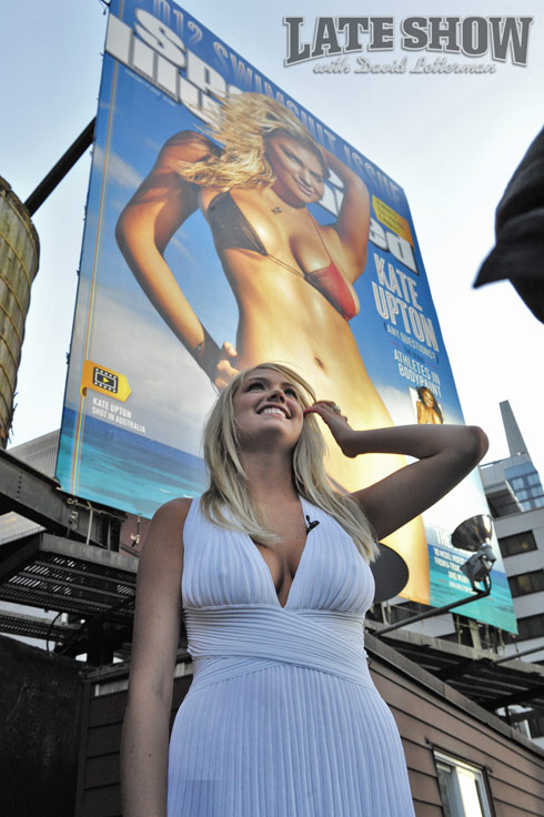 Kate Upton at the Sports Illustrated Swimsuit Issue cover unveiling in New York City