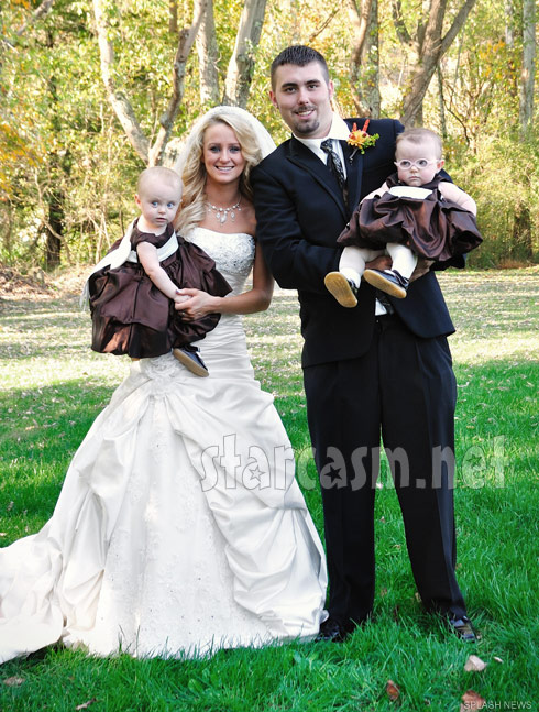 Teen Mom Leah Messer Corey Simms wedding photo