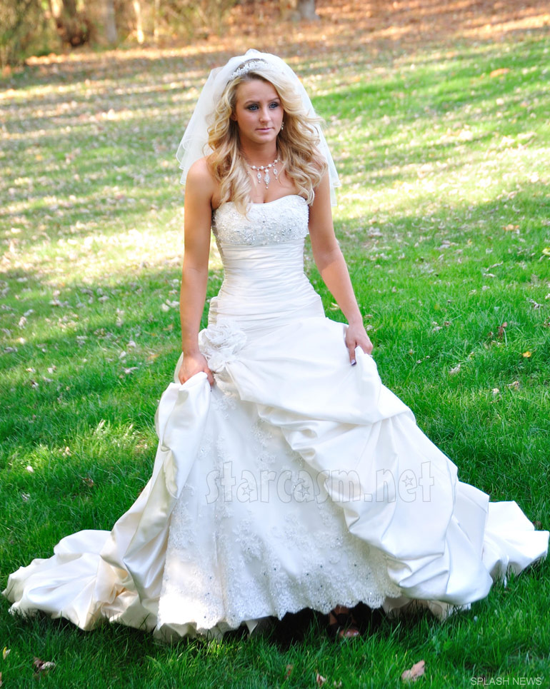 Corey simms and leah messer wedding photos teen mom 2 for Teenage dress for wedding