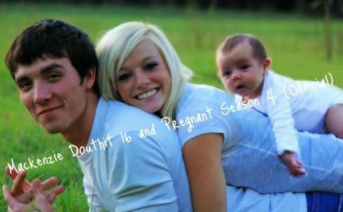 Mackenzie Douthit fiance Josh McKee and their son Gannon