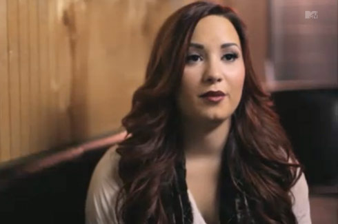 Demi Lovato from her Stay Strong MTV special