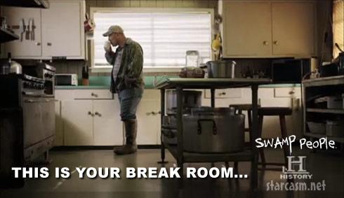 Swamp People break room