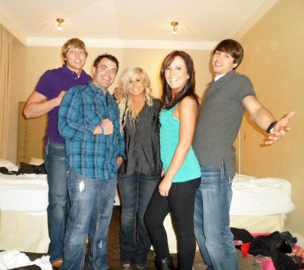 Daniel Payne Roy Lang III Chelsea Houska Erika Flom and Dane McFarland in New Orleans