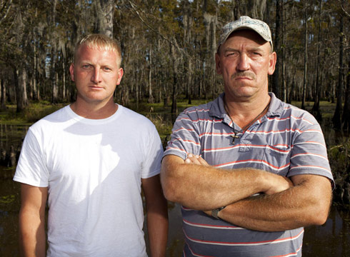 Clint Landry and Troy Landry from Swamp People