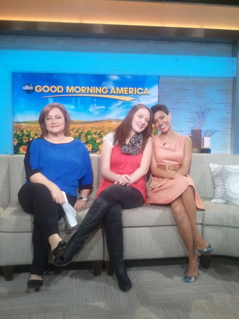 Katie Yeager and Briana Dejesus of 16 and Pregnant Season 4 on Good Morning America