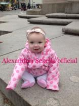 16 and Pregnant's Alexandria Sekella's daughter Arabella in New York City