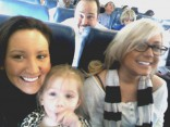 Erika Flom Aubree Randy Houska and Chelsea Houska flying to New York City