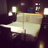Jenelle Evans' hotel room in New York City 2012