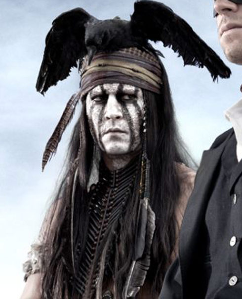 Johnny Depp as Tonto from The Lone Ranger
