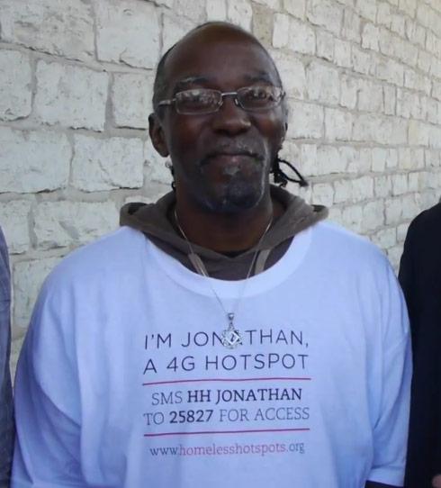 SXSW homeless hotspot