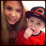 Kailyn Lowry and son Isaac in New York City 2012