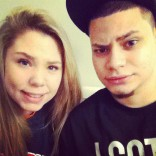 Kailyn Lowry and Jo Rivera in New York City 2012