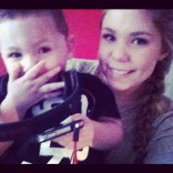 Isaac and Teen Mom 2 star Kailyn Lowry in New York City 2012