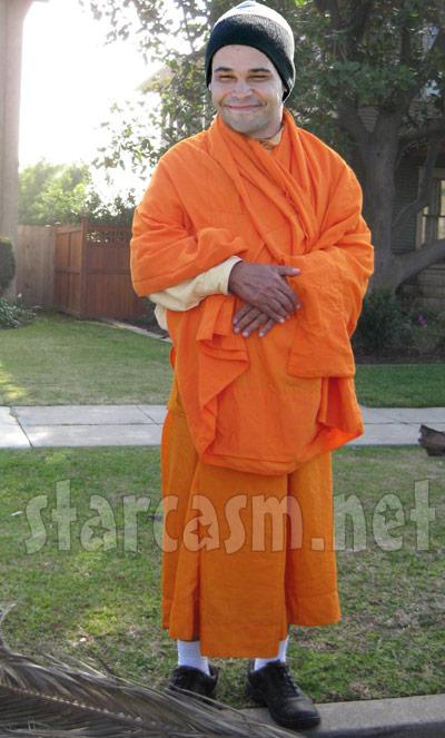 Kieffer Delp Buddhist monk